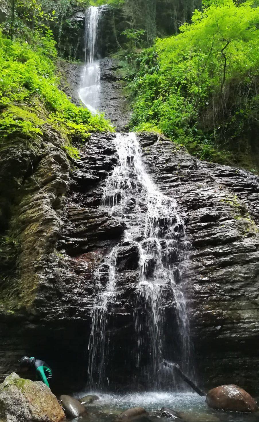 Stretti di Giaredo, una delle cascate lungo gli stretti
