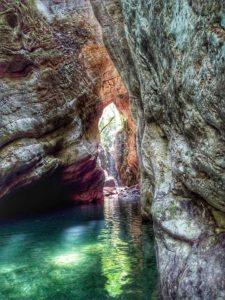 Stretti di Giaredo, inzio del Canyon