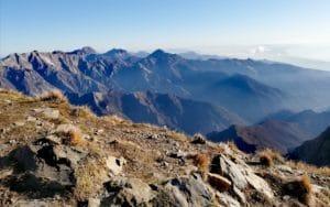 escursione sul Monte Sagro, vista dalla vetta