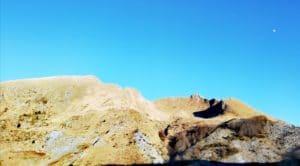 Escursione sul Monte sagro, il monte visto dal sentiero