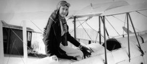 Maude Lores Bonney, aviatrice