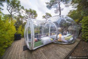 Hotel più strani del mondo, camera bolla del Atrrep Reves, provenza