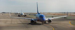 Fallimento compagnia aerea cosa fare, aerei sulla pista