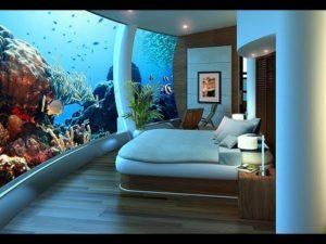 Hotel sommersi, camera del Poseidon Undersea resort