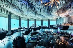 Hotel sommersi, discoteca subacquea Subsix, hotel Nyama Maldive