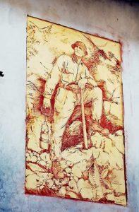 Casoli paese dei graffiti, Vito il minatore