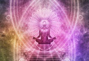 illustrazione meditazione, cosa sono i chakra