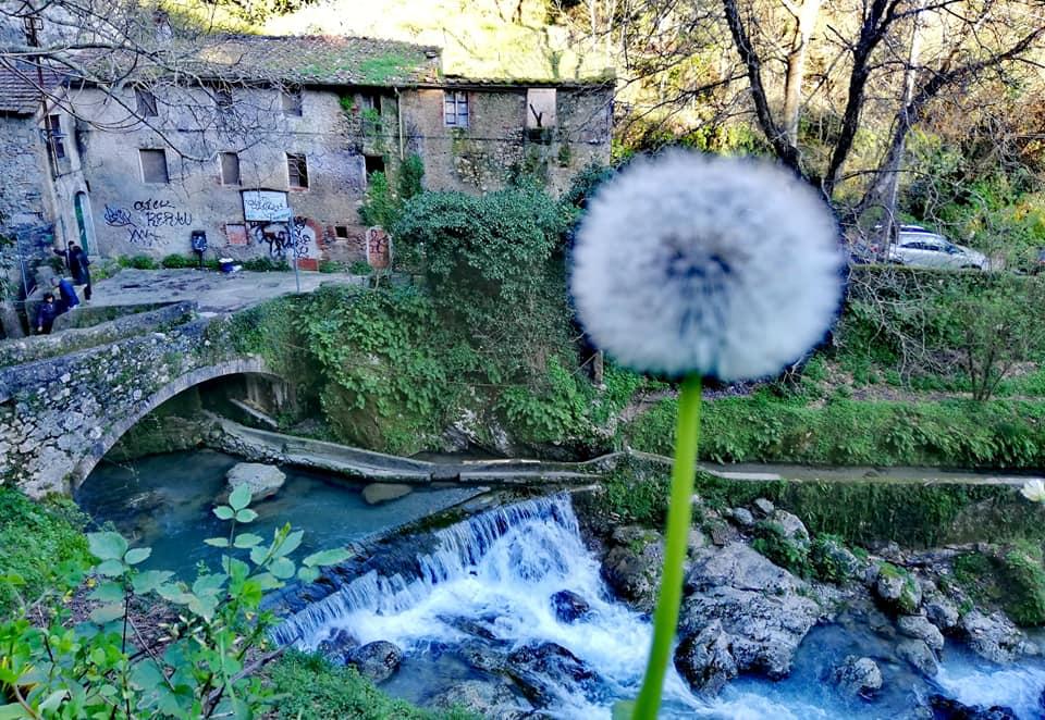 molino Taccone, inzio sentiero Cascate