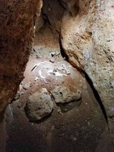 Interno Grotta Cala di Biagio, isola di Pianosa