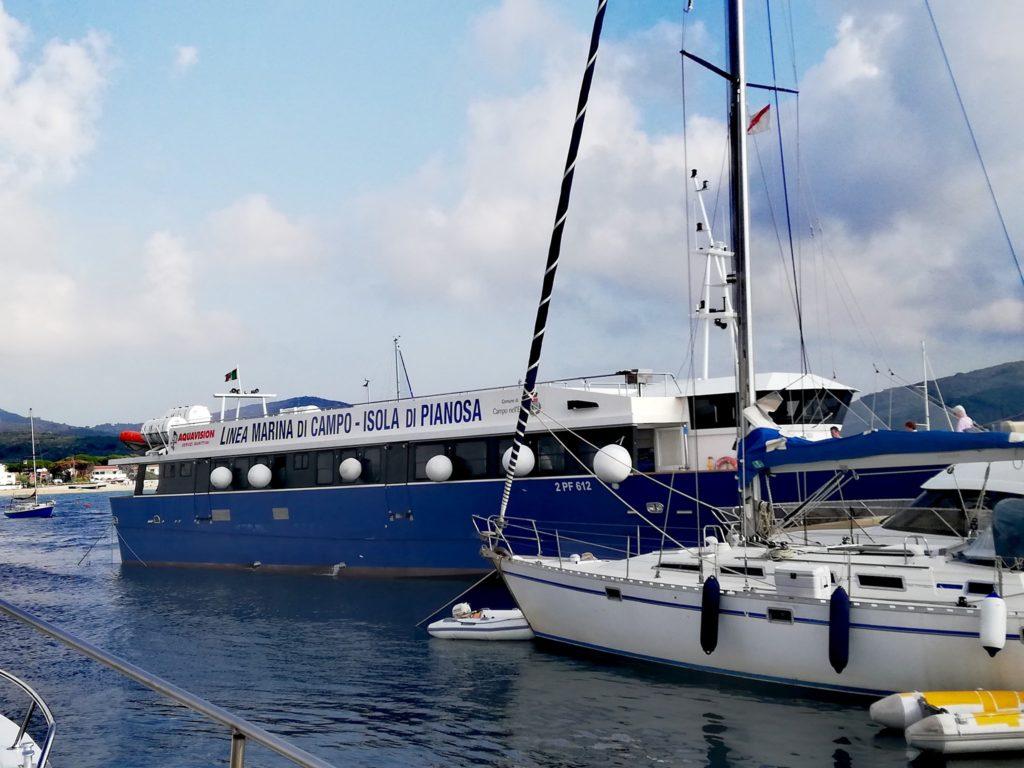 Traghetto per Isola di Pianosa