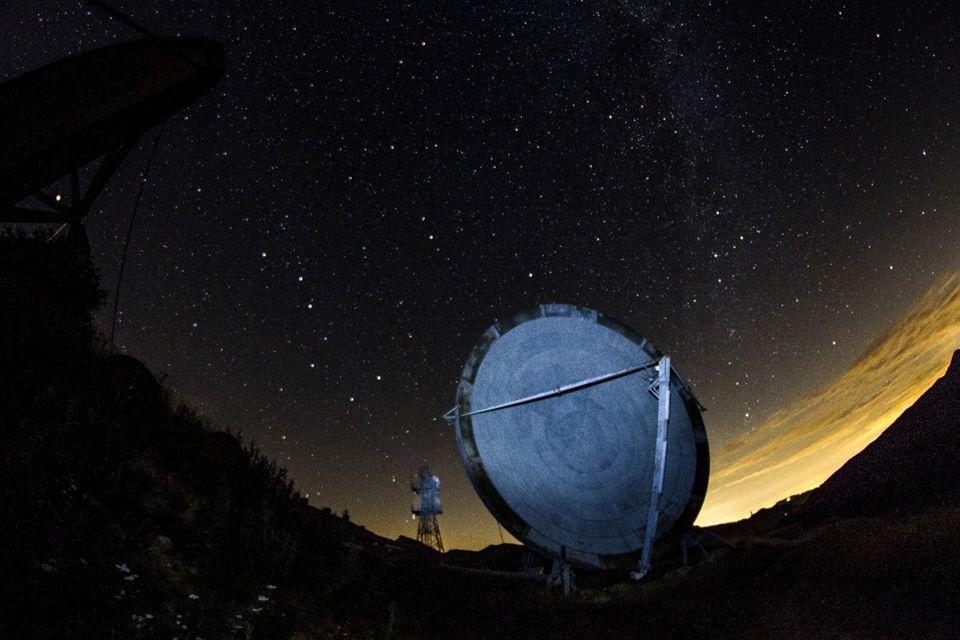 Ex Base NATO Monte Giogo, Comano Lunigiana, uno dei radar