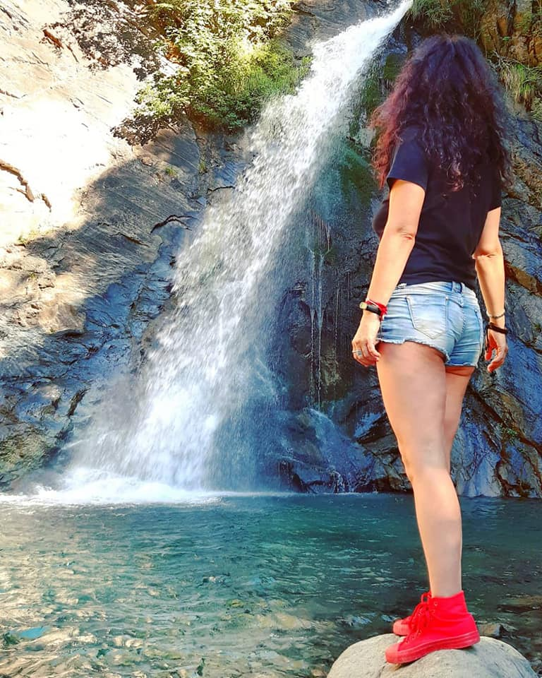 Me alla Cascata del Piscio