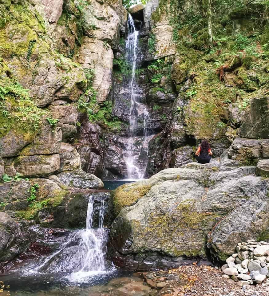 Cascata di Parana, visione d'insieme
