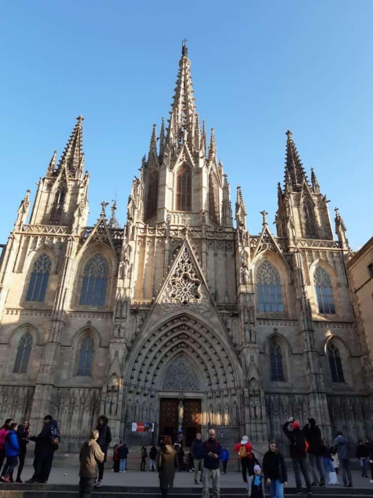 Cosa vedere a Barcellona nel barrio gotico la cattedrale di Sant'Eulalia