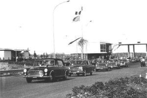 inaugurazione autostrada del sole