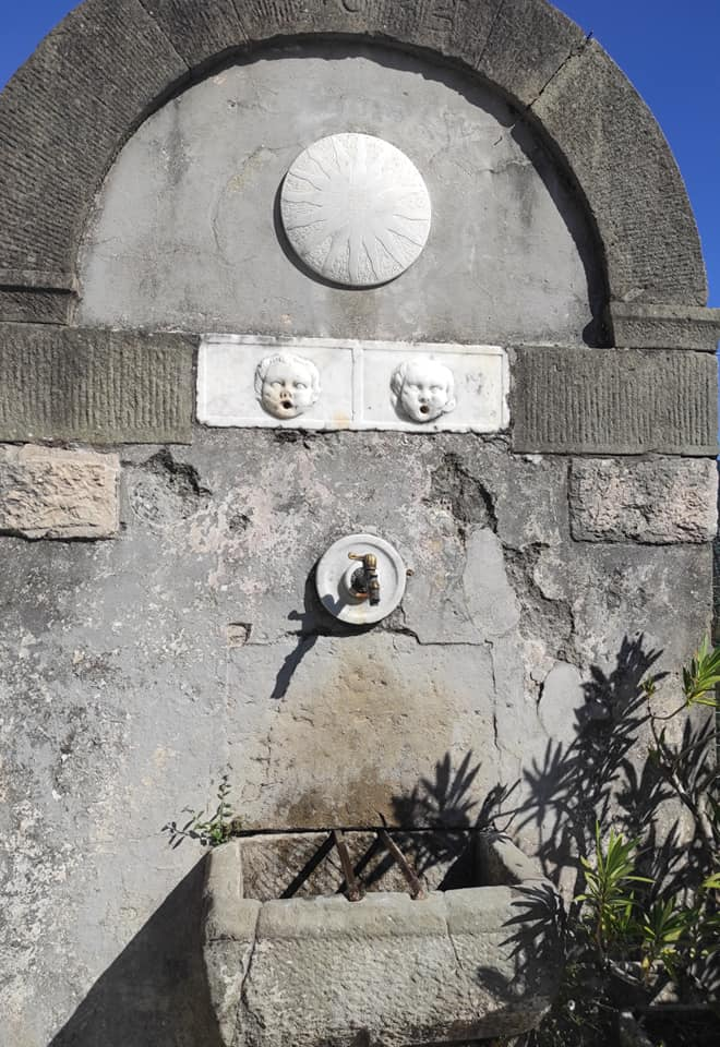 Pulica, l'antica Fontana