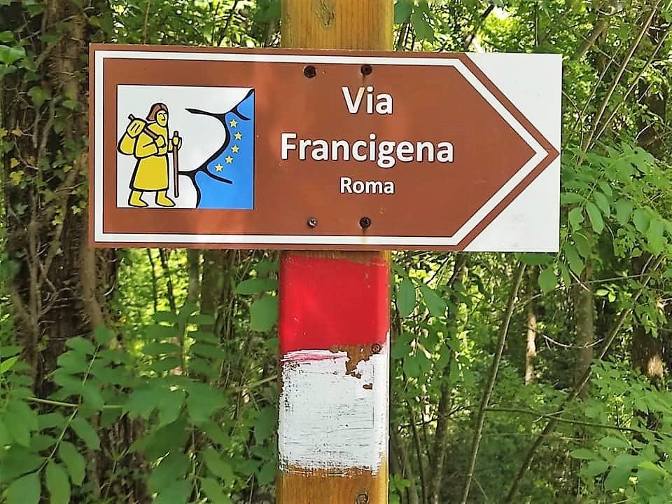 Indicazioni via Francigena Pontremoli Aulla