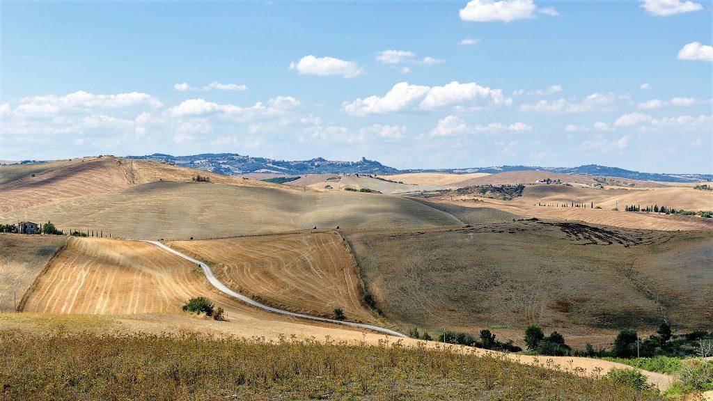 Tappe Via Francigena Toscana, scorcio di un tratto del cammino