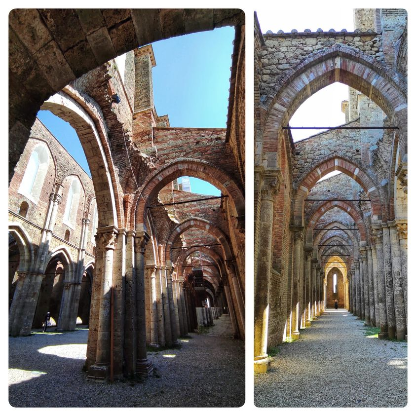 abbazia di San Galgano, interno